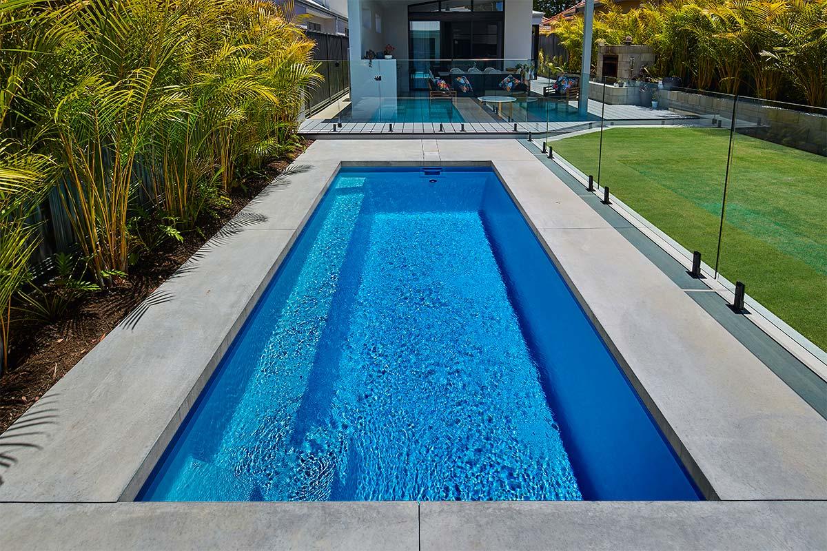 Pool Colour Aqua Green Sparkle