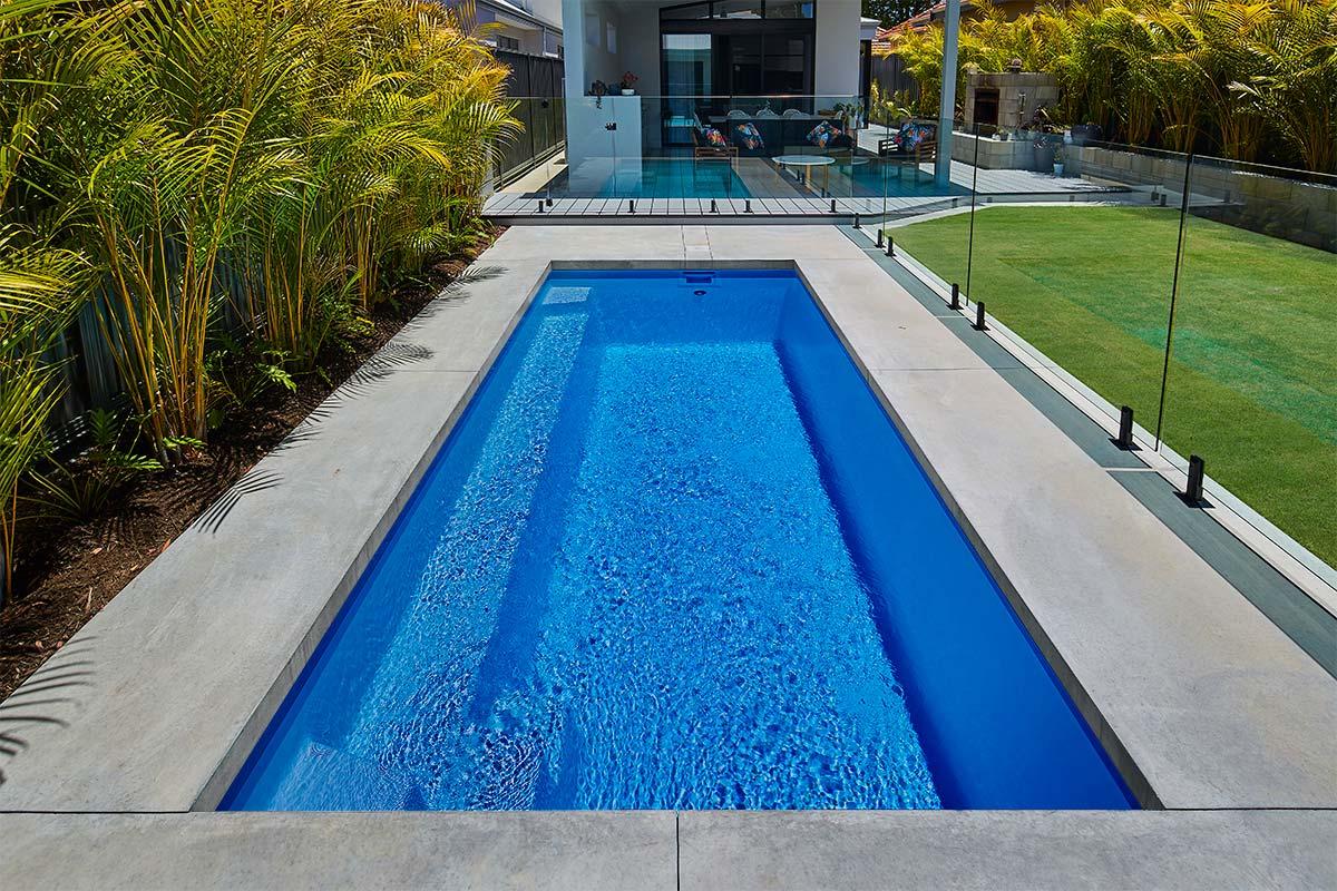 Pool Colour Crystal Blue Sparkle