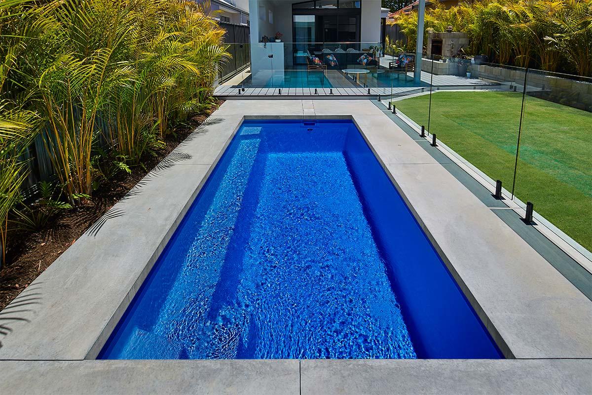 Pool Colour Esperance Blue Sparkle
